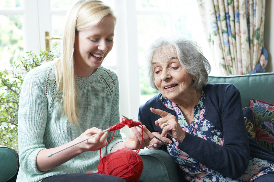 Elderly Care in Lansing MI: Benefits of Getting Crafty during National Craft Month