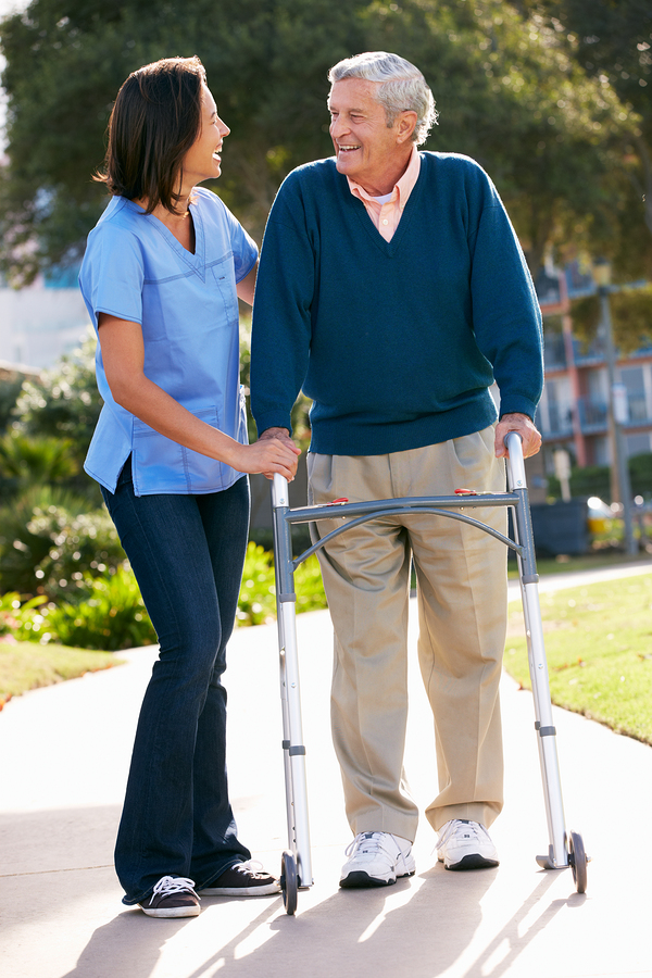 Elderly Care in DeWitt MI: Four Safety Tips for Your Dad's Daily Walk